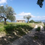 Path house of restored country house Casale Antignano near Bevagna: restored country house for sale in Umbria, Italy