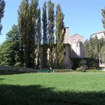 Exterior view of restored village house Casa San Felice near Spoleto: village house for sale in Umbria, Italy