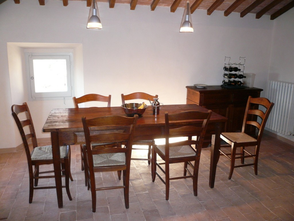 Dining Room In Palazzo Apartment Pozzo Near Spoleto: Apartment For Sale In  Umbria, Italy